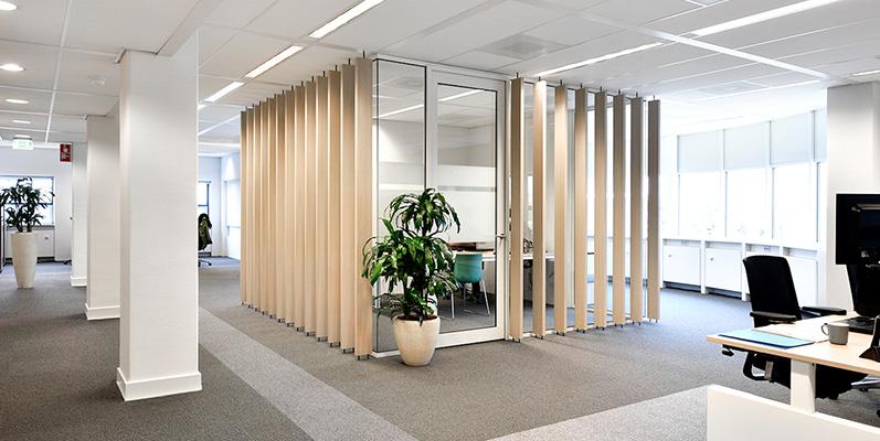 Vitriwand - project RVA Utrecht
